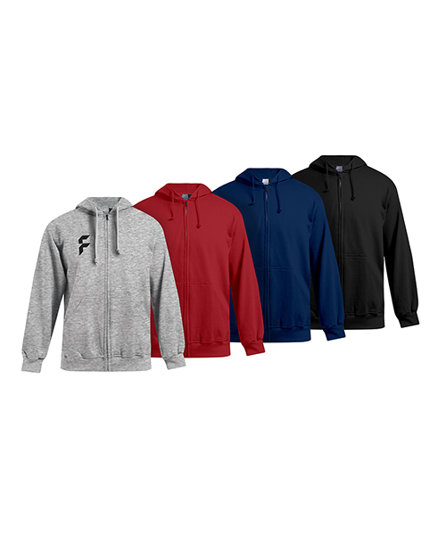 Men's standard zip hoodies