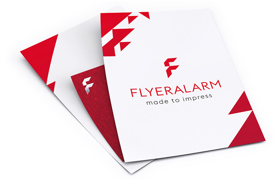 Flyers with premium finishes