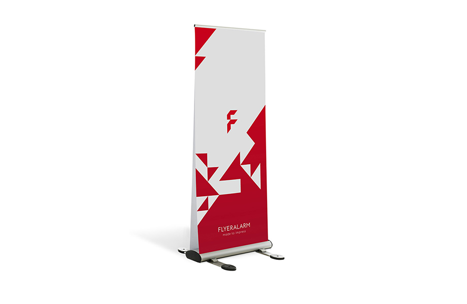 Roll-Up Duo Outdoor, sistema incl. stampa