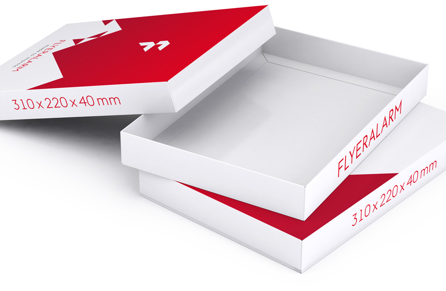 Boxes with removable lids