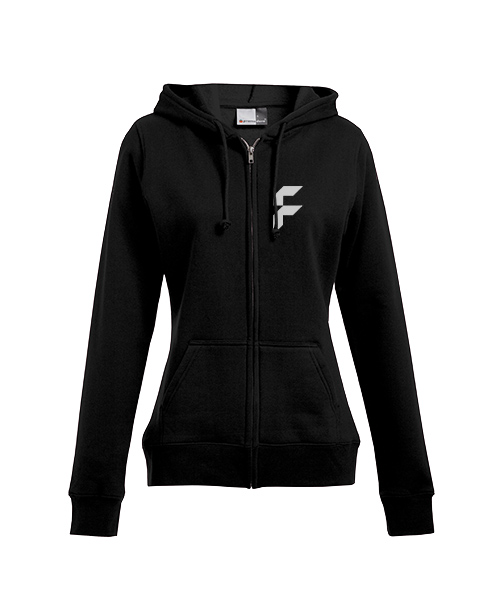 Women's standard zip hoodies