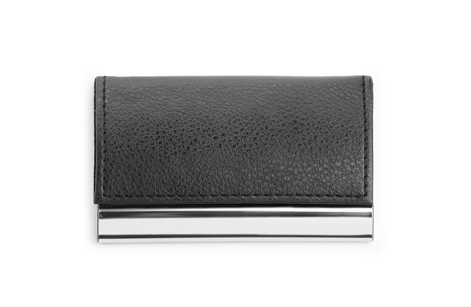 Sample artificial leather business card case