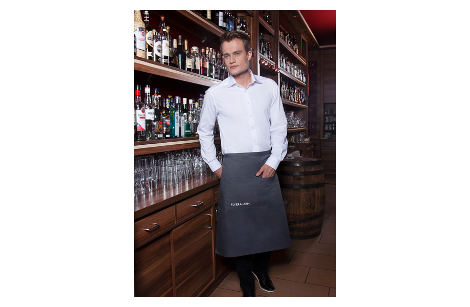 Bistro aprons with pocket