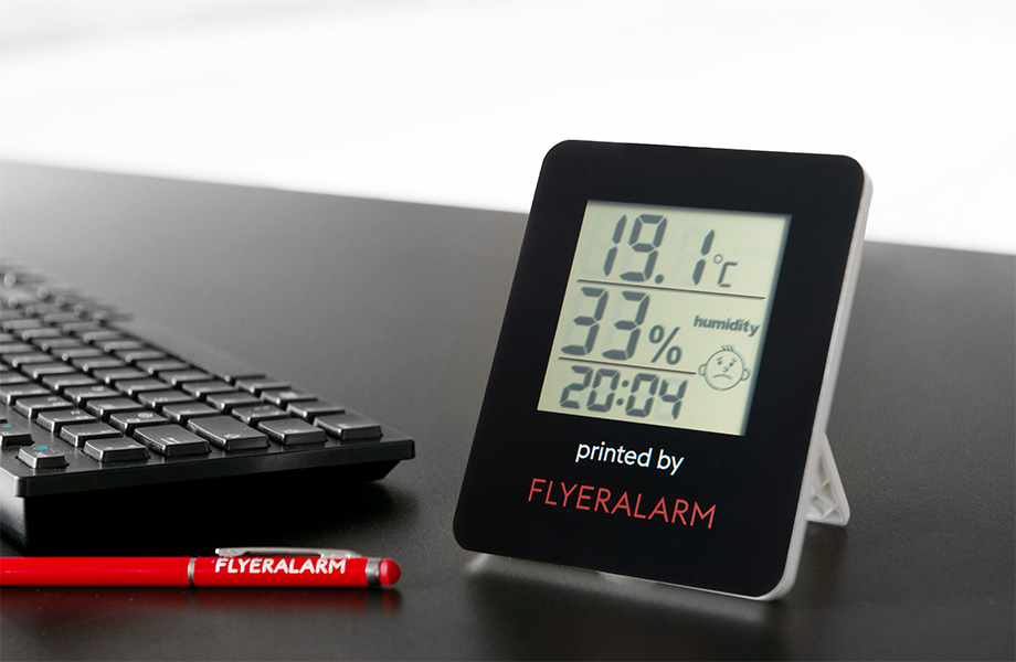 Digital room thermometers with stand