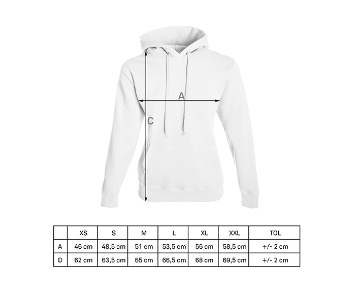 Women's basic hoodies