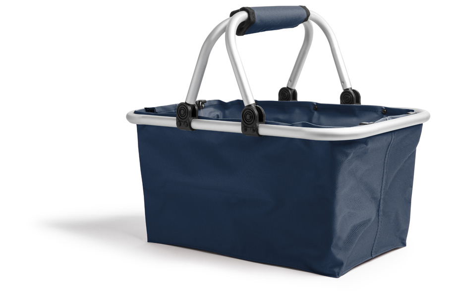 Sample foldable shopping basket