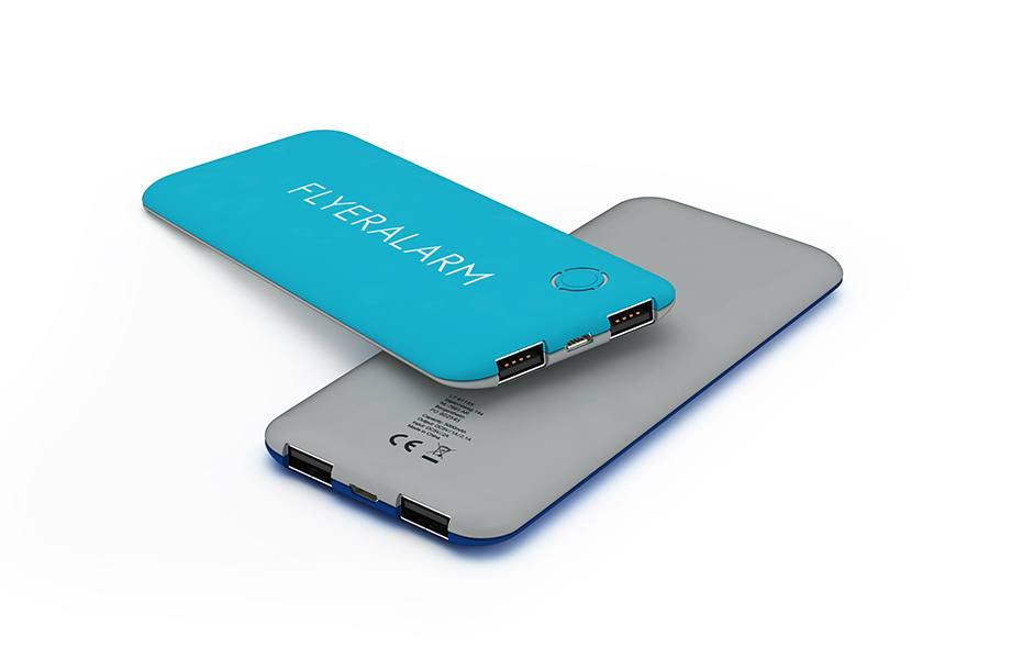 Powerbanks 5.000 mAh Soft Touch
