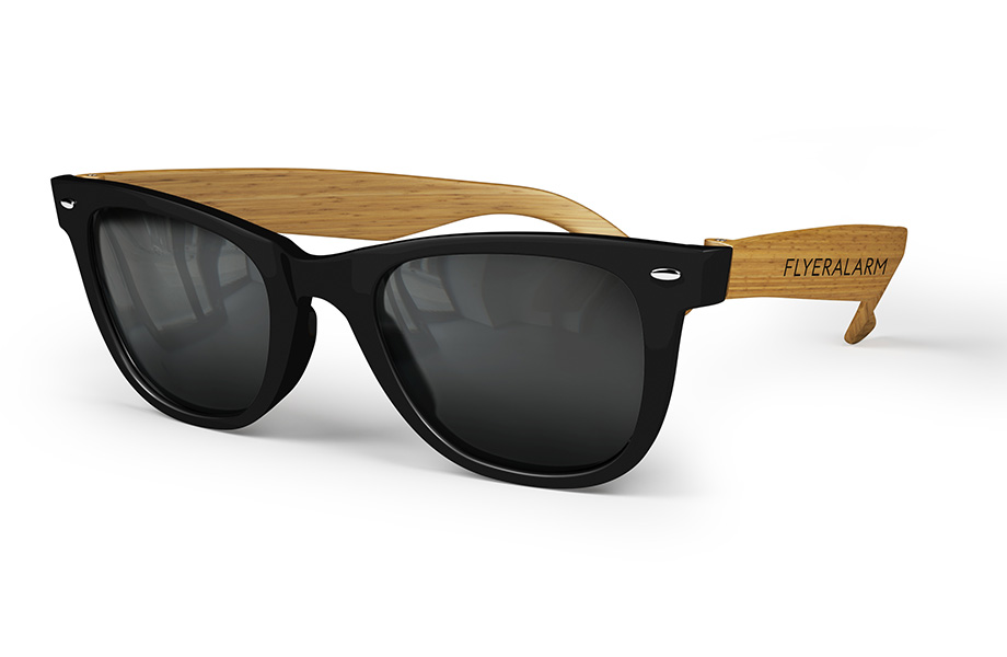 Sample bamboo-patterned sunglasses
