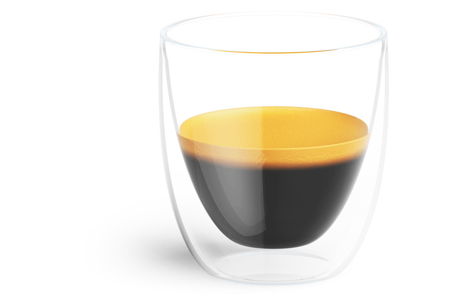 Sample koffieglazen