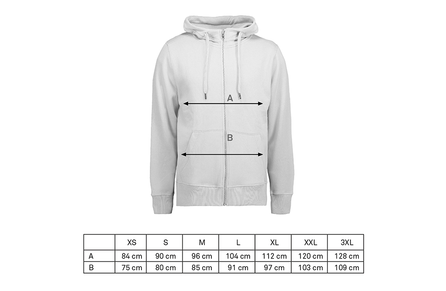 Premium men's zip hoodies