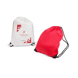 Sample basic polyester gym bag