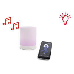 Campione di speaker Bluetooth luminoso