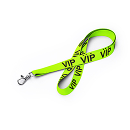 Lanyards Neon mit Standardtext