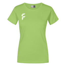 Regular Fit T-Shirt Damen