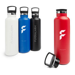 Metal thermos flasks
