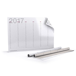 Annual planners (double-sided print)