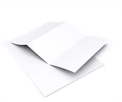 Briefpapier blanco