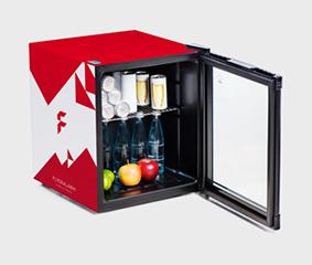 Mini Kühlschrank Energieverbrauch : Minikühlschränke günstig schnell bedrucken bei flyeralarm