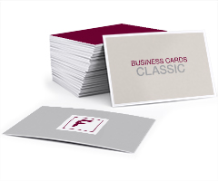 Business cards classic