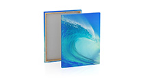 Stretched canvas incl. print £18.75 only valid in September