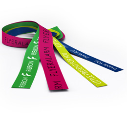 Coloured gift ribbon