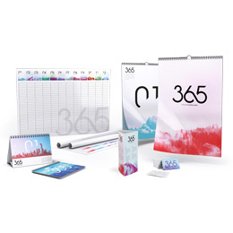 Calendar sample box