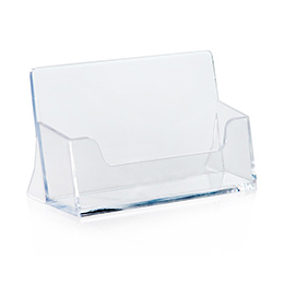 Business card holder horizontal