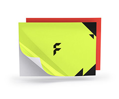 Fluo stickers