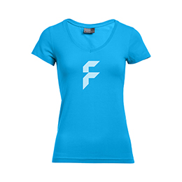 T-Shirt Classic Damen Slim Fit