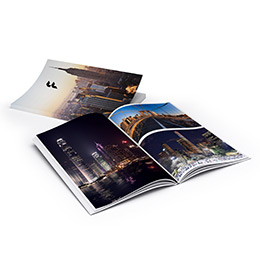 Soft cover photo books (digital print)
