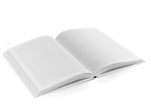 Notizbücher Hardcover kariert / blanko (Digitaldruck)