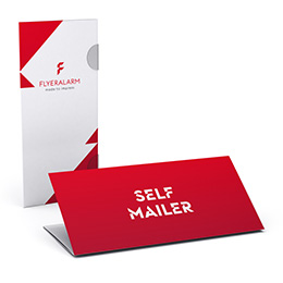 Self-mailers without address
