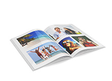 Softcover Photo books </br> (digital print)