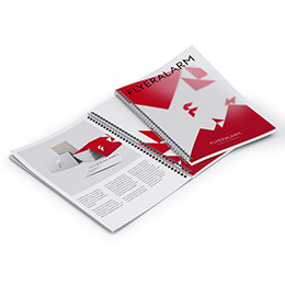 Spiral Bound Brochures: Printed Polypropelene Cover