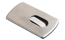 Business card case, stainless steel