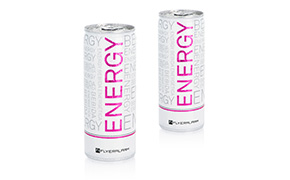 Private label drinks: Energy - product samples