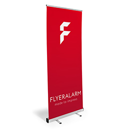 Roll-up banner budget (systeem incl. bedrukking)