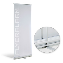 Roll-Up Banner Classic, systeem incl. druk
