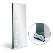 Roll-Up Banner Comfort Duo, systeem incl. druk