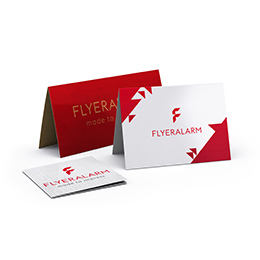 Greeting cards and invitations made of premium material